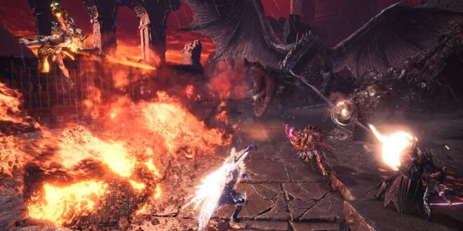 Disponible la quinta actualización de Monster Hunter World: Iceborne