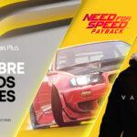 Need for Speed Payback, Vampyr y Massira son los nuevos títulos para PlayStation Plus en octubre 2020