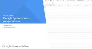 Contar historias con datos: cómo usar las hojas de cálculo