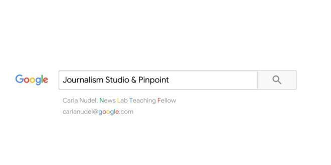 Pinpoint y Journalist Studio: Periodismo de Investigación