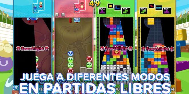 El modo Batalla de Dotes de Puyo Puyo Tetris 2. En marcha la campaña de reserva anticipada