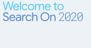 SearchOn de Google 2020. #searchon
