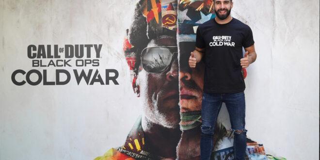 Call of Duty: Black Ops Cold War celebra hoy un evento de lanzamiento con la participación de futbolista Dani Carvajal