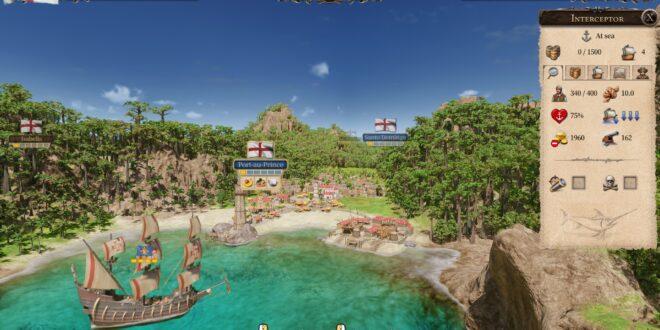 La mayor actualización de la historia llega a Port Royale 4