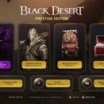 Black Desert Prestige Edition llega a PS4 y Xbox One X el próximo 6 de noviembre