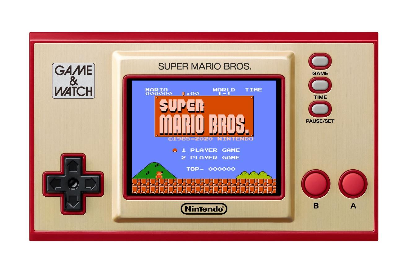 Vuelve la consola que cambió la historia de los videojuegos en los 80: Game & Watch: Super Mario Bros