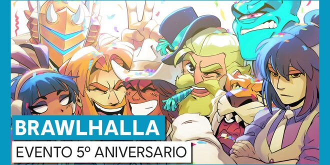 Brawlhalla celebra su quinto aniversario con un evento del juego, que ya está disponible
