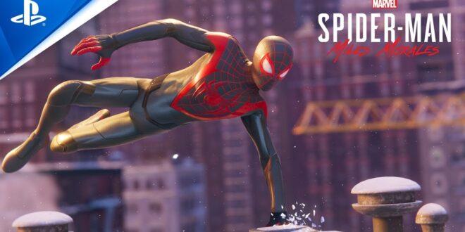 Marvel's Spider-Man: Miles Morales presenta su espectacular Tráiler de lanzamiento