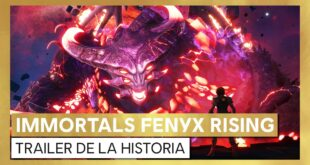 Immortals Fenyx Rising divertido tráiler crossover