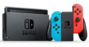 La familia de consolas Nintendo Switch supera los 1.570.000 unidades vendidas en España