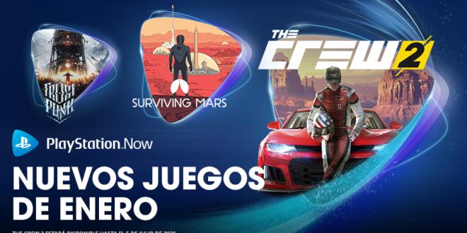 The Crew2, Surviving Mars y Frostpunk entre las novedades de PlayStation Now en enero