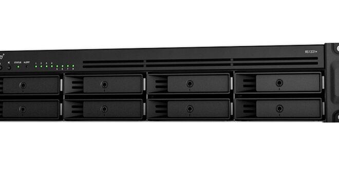 Synology presenta las unidades rack compactas RS1221+ y RS1221RP+