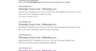 Los grupos de WhatsApp están disponibles en Google ¿Cómo puede aprovecharlo un ciberdelincuente?