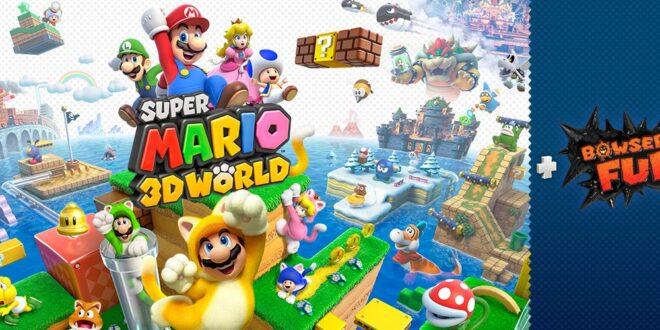 La mejor aventura de Mario para disfrutar en compañía aterriza en Nintendo Switch:Super Mario 3D World+Bowser's Fury