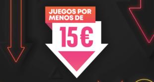 Más de 300 títulos se suman a PlayStation Store con la promoción Juegos por menos de 15€
