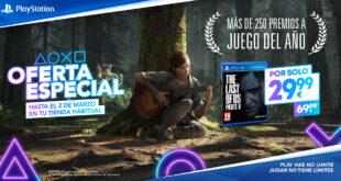 The Last of Us Parte II rebaja su precio a 29,99€ hasta el 2 de marzo