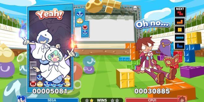 Celebra el Puyo Day y el 30 aniversario de la saga con la nueva actualización de Puyo Puyo Tetris 2