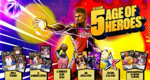 Era de Héroes: la Temporada 5 de Mi EQUIPO de NBA 2K21 llega hoy