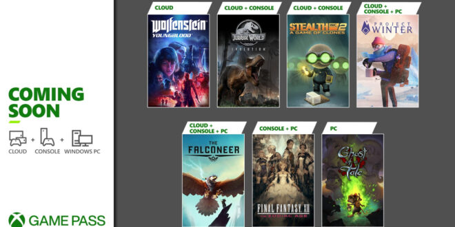 Próximamente en Xbox Game Pass: Final Fantasy XII, Project Winter, Jurassic World Evolution y más