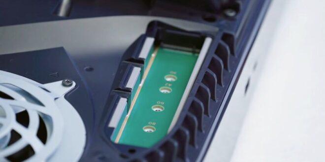 PS5 actualizará el firmware en verano para permitir la SSD