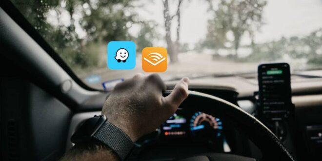 Waze integra Audible en su aplicación