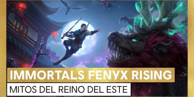Immortals Fenyx Rising: Mitos del Reino del Este el segundo DLC del juego de Ubisoft