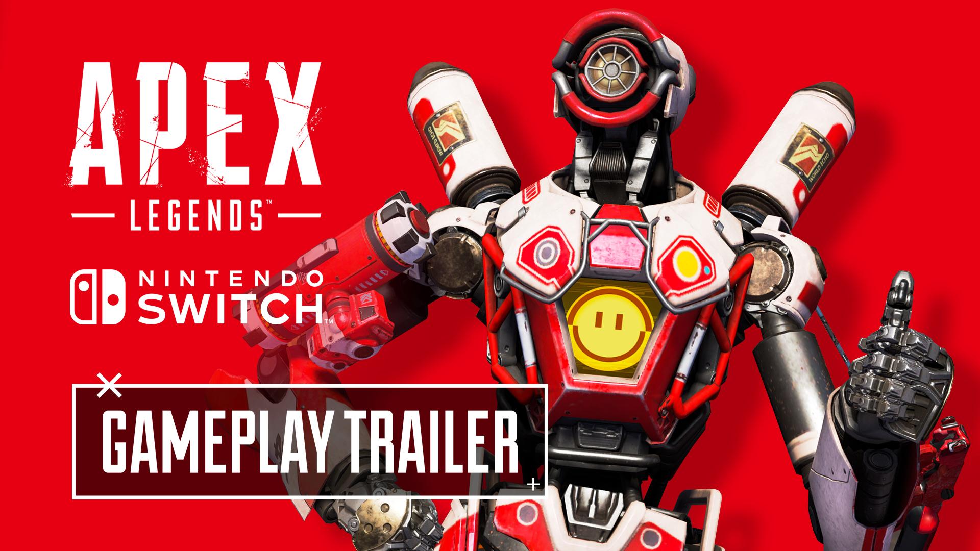 Apex Legends presenta un nuevo tráiler anunciando su llegada a Nintendo Switch el próximo 9 de marzo