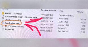 Ataque de ransomware al SEPE con Ryuk