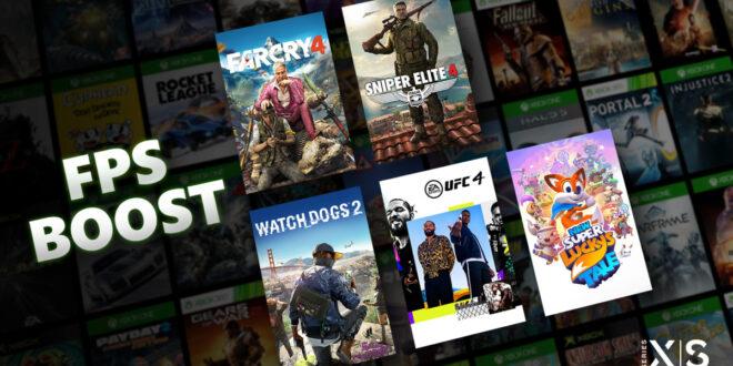 Cinco juegos de Bethesda reciben hoy un aumento de FPS (FPS Boost) en Xbox Series X S