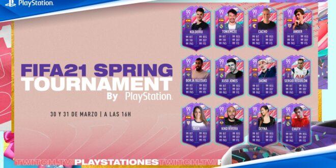 EA SPORTS enfrenta a Borja Iglesias, Kiko Rivera, Skone, Deina Castellanos y Xuso Jones entre otros en el FIFA 21 Spring Tournament