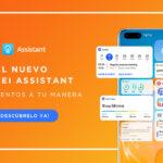 Huawei presenta el nuevo y mejorado Huawei Assistant