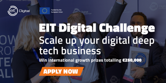 Las scaleups tecnológicas tienen una cita con el emblemático EIT Digital Challenge 2021