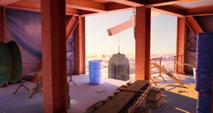 Un nuevo vídeo de juego de Hot Wheels Unleashed muestra el segundo entorno: el Rascacielos