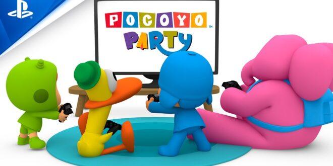 Pocoyó Party, el videojuego para toda la familia, llega hoy a PlayStation