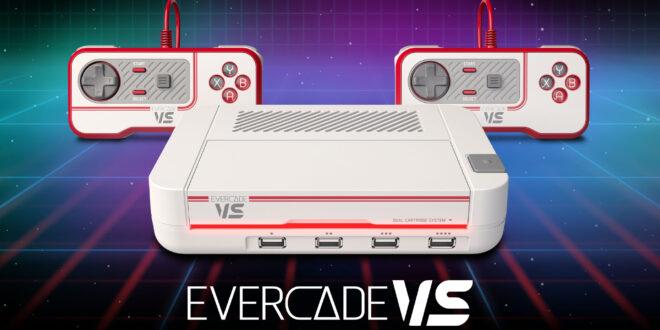 Evercade VS la nueva consola de sobremesa de Blaze Entertainment