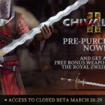 La Beta Abierta multiplataforma de Chivalry 2comienza el 27 de mayoen formato PC, PlayStation 4, PlayStation5, Xbox One y Xbox Series X|S