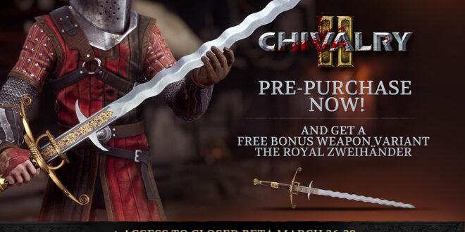 La Beta Abierta multiplataforma de Chivalry 2comienza el 27 de mayoen formato PC, PlayStation 4, PlayStation5, Xbox One y Xbox Series X S