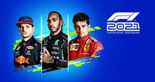 Los grandes pilotos de la F1 Lewis Hamilton, Max Verstappen y Charles Leclerc, protagonistas de la portada de F1 2021