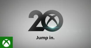 Próximo Aniversario 20 años de Xbox – ¡Que empiece la fiesta!
