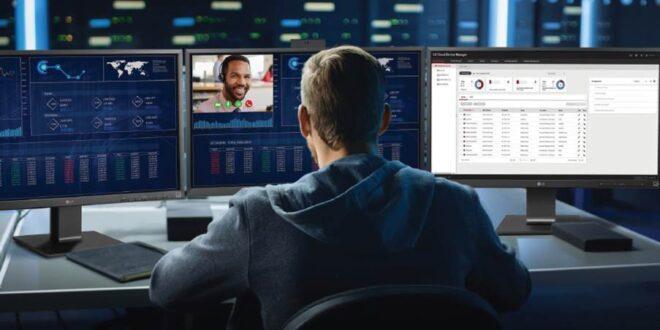 LG presenta su primer software de gestión en España: LG Cloud Device Manager