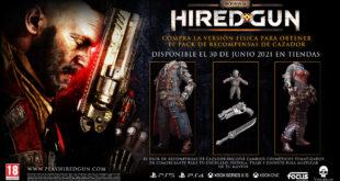 Necromunda: Hired Gun ya a la venta en formato digital – Tráiler de lanzamiento