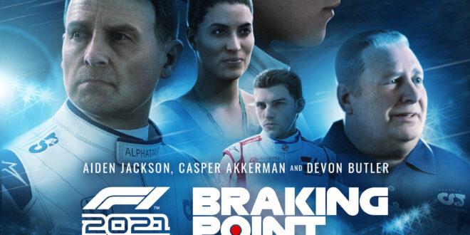 Codemasters y EA SPORTS presentan Braking Point, la emocionante historia del videojuego F1 2021