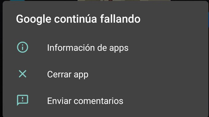"""You get this error today on your Android mobile """"Google keeps crashing"""" We explain how you can solve it."""