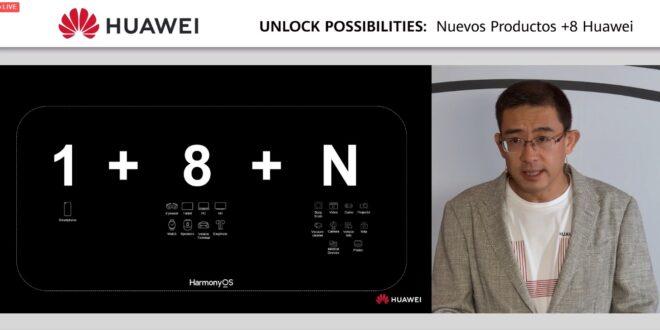 Presentación UNLOCK POSSIBILITIES: Nuevos productos +8 Huawei en España