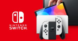Nueva consola Nintendo Switch a la venta el 8 de octubre