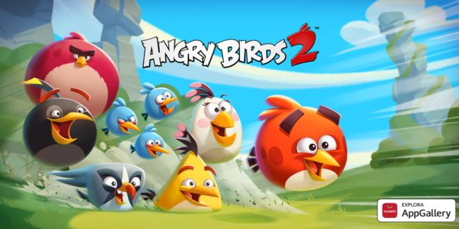 El popular juego Angry Birds 2 aterriza en AppGallery con diferentes retos y ofertas para los usuarios