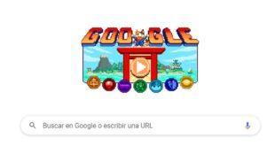 Juegos Olímpicos de Tokyo 2020 Google se anima con su Doodle