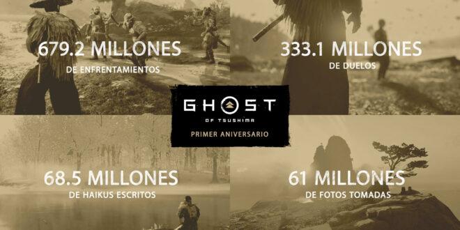 333 millones de duelos y 61 millones de fotos: las estadísticas de Ghost of Tsushima en su primer aniversario