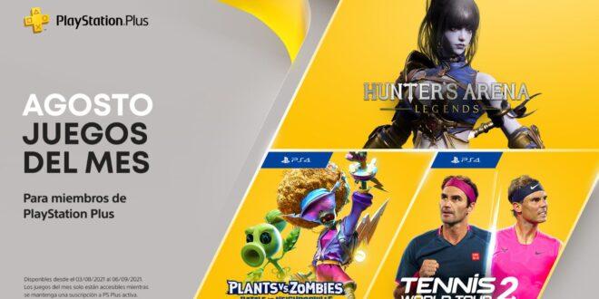 Hunter's Arena: Legends, Plants VS Zombies: Battle for Neighborville y Tennis World Tour 2, entre los videojuegos gratos de agosto del 2021 en PlayStation Plus