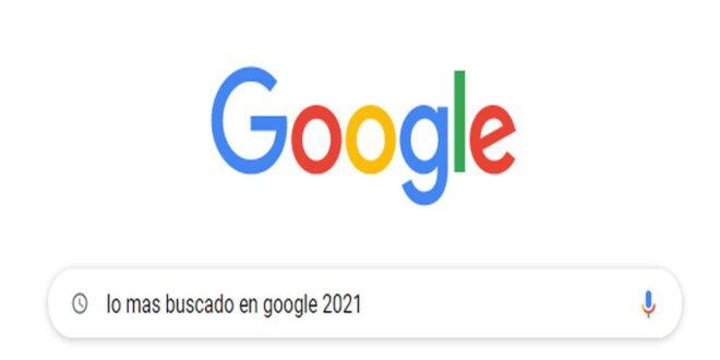 Lo más buscado en Google 2021 para España
